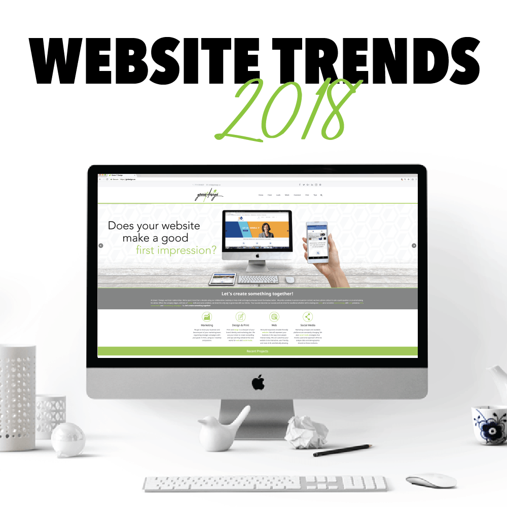 Website Trends, 2018