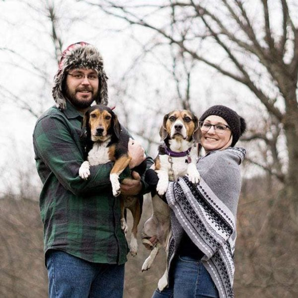 Charity, Her Husband, and Beagles