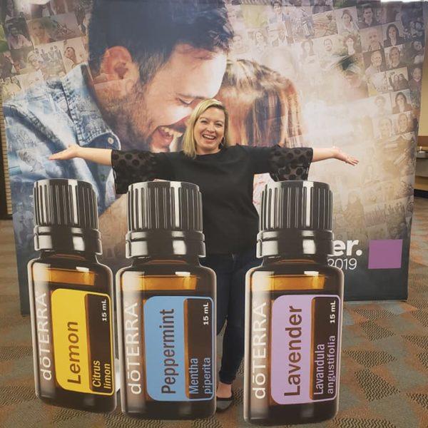 Vanessa with Oils