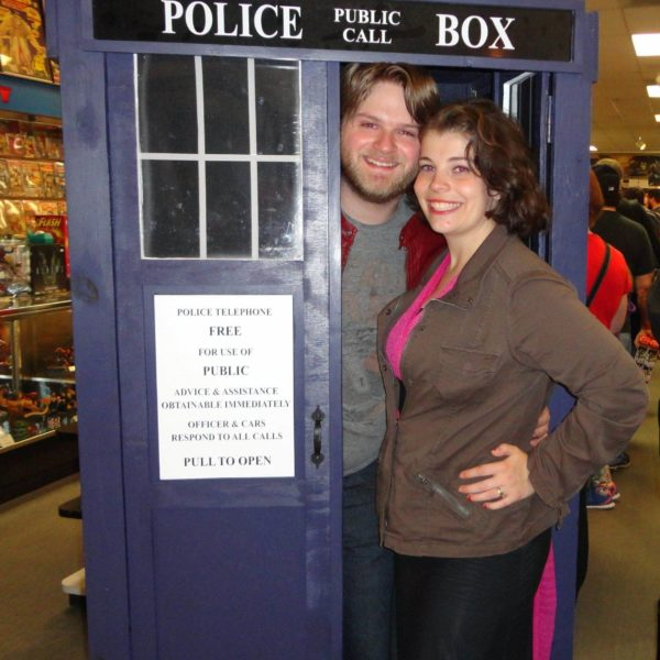 Allen and Wife in Tardis