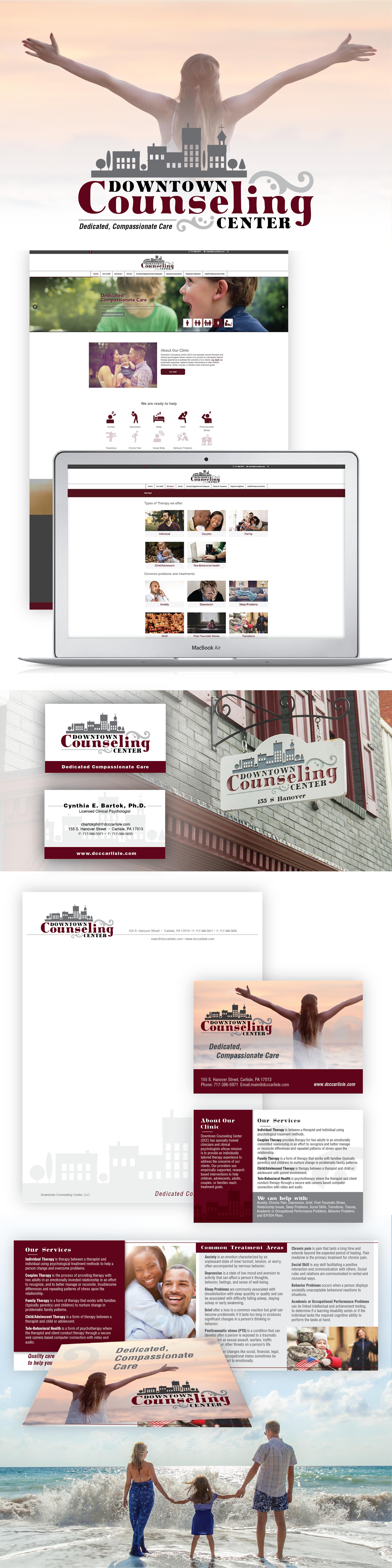 Downtown Counceling Center Portfolio
