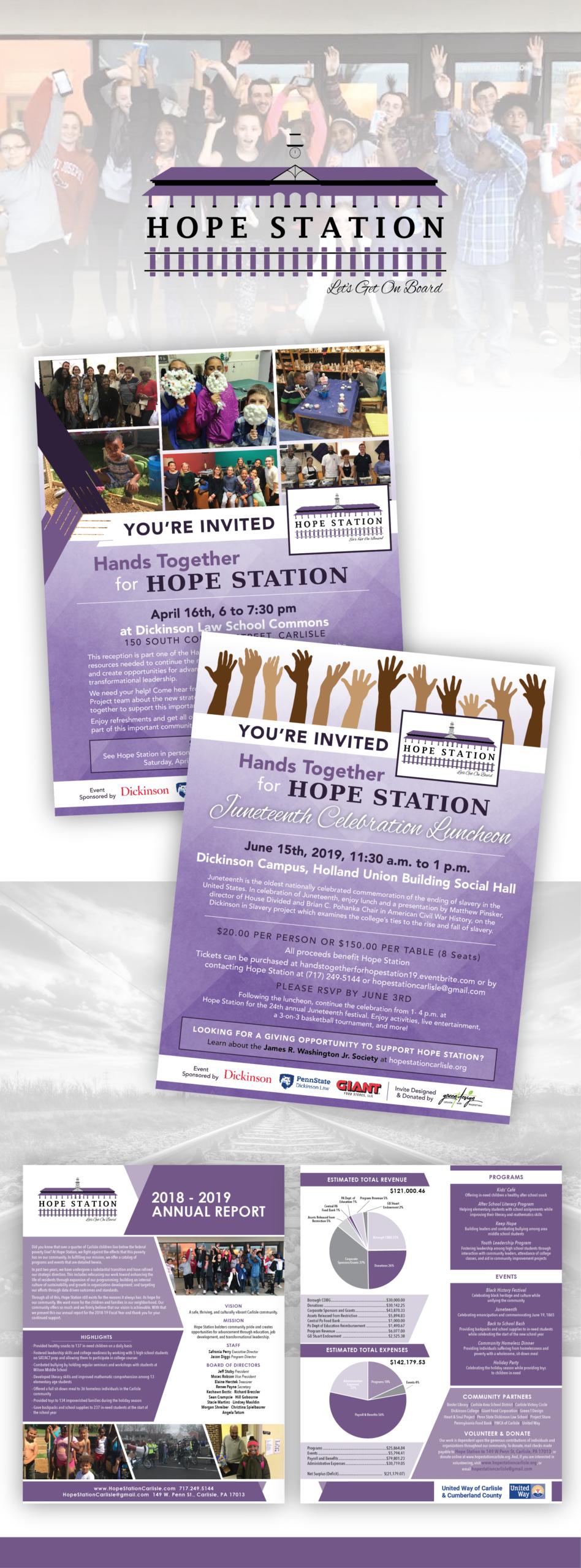 Hope Station Portfolio