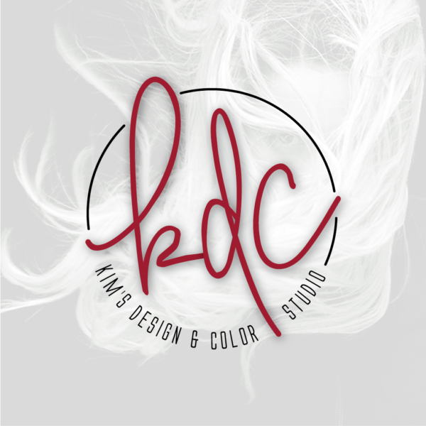 Kim's Design & Color Studio Logo