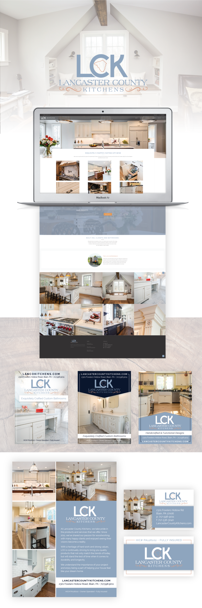 Lancaster County Kitchens Portfolio