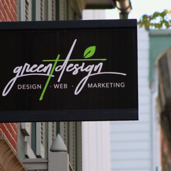 Green T Design Office Sign