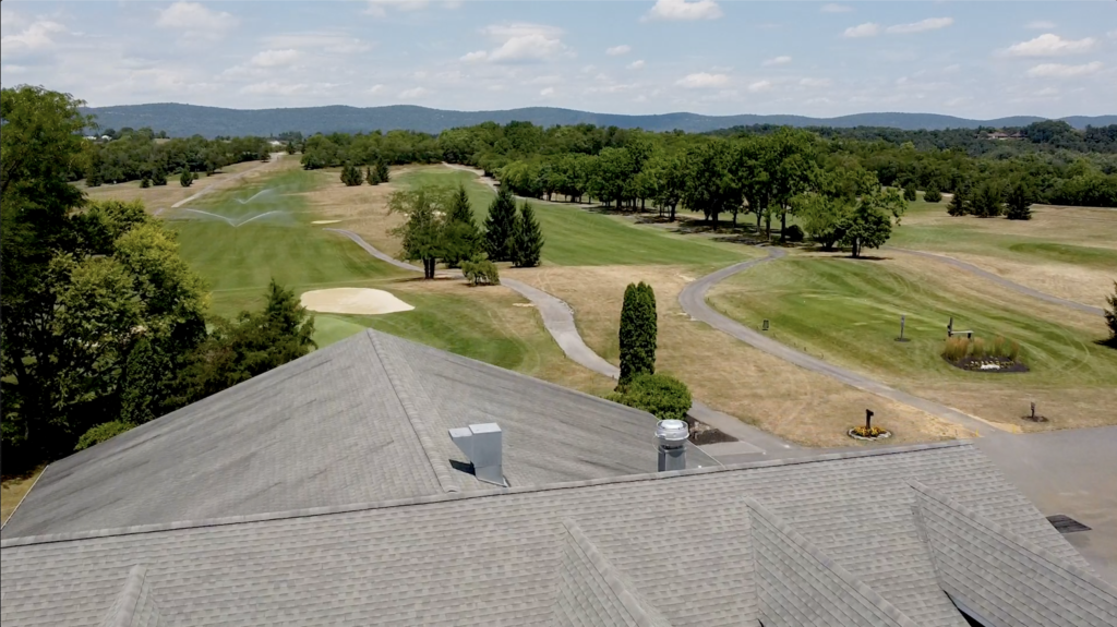 Golf Course Drone Footage