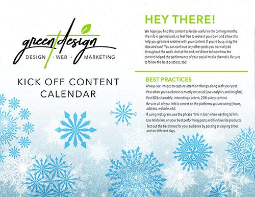 Free Content Calendar